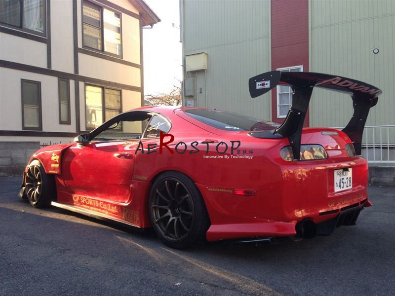 a5ea176fdfaa FOR SUPRA JZA80 MKIV GARAGE BB STYLE GT WING 1700